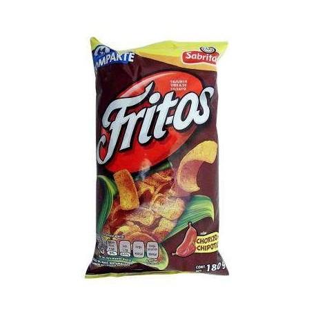 Sabritas Fritos Chorizo Chipotle 65 Gr