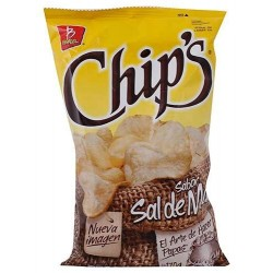 Barcel Chips Sal de Mar 46 Grs