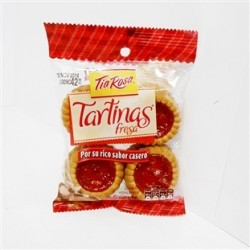 Tia Rosa Tartinas Fresa 100 Grs