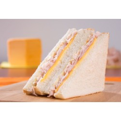 Sandwich de Pan Blanco